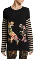 Etro Wool Embroidered Sweater