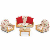 International Playthings Calico Critters of Cloverleaf Corners Living RoomSuite