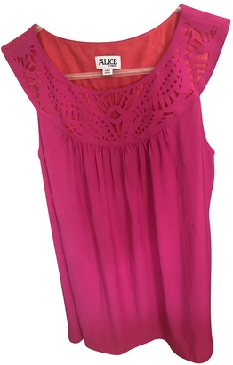 ALICE by Temperley Pink Top for Women