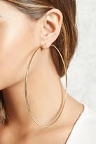 Forever 21 Oversized Hoop Earrings