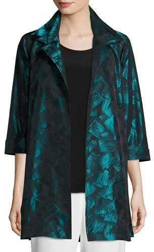 Caroline Rose Brushstroke Jacquard Party Jacket