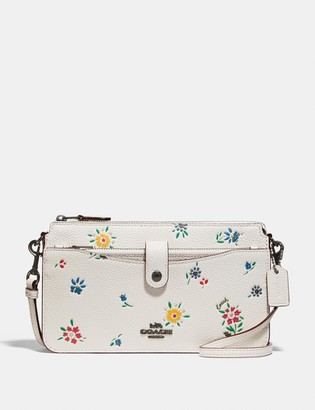 Coach Noa Pop-Up Messenger With Wildflower Print