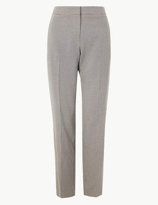 Marks and Spencer Dogtooth Checked Suit Trousers
