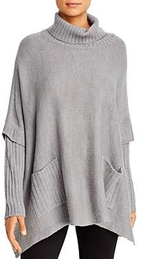Alison Andrews Turtleneck Poncho Sweater