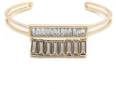 Alexis Bittar Baguette Encrusted Channel Cuff