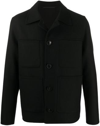 Ami Paris Unstructured Patch Pockets Jacket