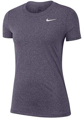 Nike Dry Legend Tee Crew (Black/White) Women's T Shirt