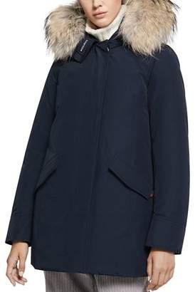 Woolrich Arctic Fur-Trim Down Parka