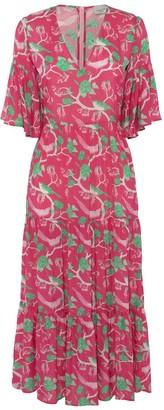 Primrose Park Alice V Neck Dress - xs