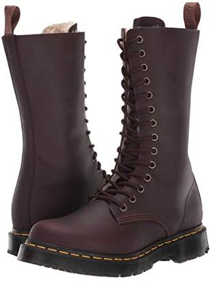 Dr. Martens 1914 Kolbert Tall Wintergrip (Black Snowplow Waterproof) Women's Shoes