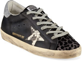 Golden Goose Superstar Python & Leopard Print Sneakers