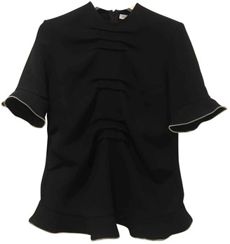 J.W.Anderson Black Cotton Top for Women
