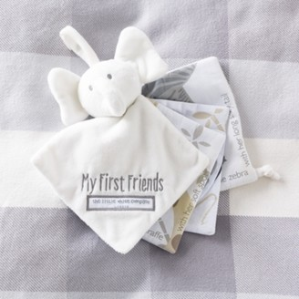 The White Company My First Friends Fabric Book, White, One Size
