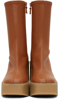 Stella McCartney Tan Skyla Boots