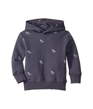 Cotton On Horizon Hoodie (Little Kids) (Vintage Navy Dabasaurus) Boy's Clothing
