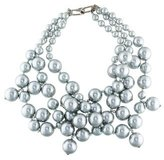 Kenneth Jay Lane Multistrand Faux Pearl Necklace