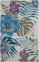Asstd National Brand Palm Tree Rectangular Area Rug