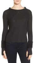 Nic+Zoe Women's Interlude Knit Cuff Top