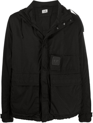 C.P. Company Hooded Zip-Up Raincoat