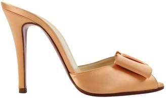 Christian Louboutin Orange Other Heels