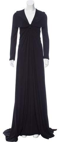 Givenchy Twist-Accented Maxi Dress