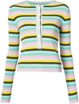 Natasha Zinko Horizontal Stripe Sweater