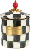 Mackenzie Childs Courtly Check Enamel Canister