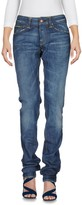 Care Label Denim pants - Item 42580270