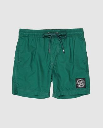 Santa Cruz Cruizer Solid Beach Shorts - Teens