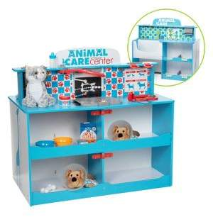 Melissa & Doug Animal Care Activity Center Wooden Playset