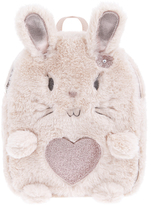Accessorize Beverly Bunny Fluffy Backpack
