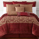 Royal Velvet Malaga 4-pc. Jacquard Comforter Set