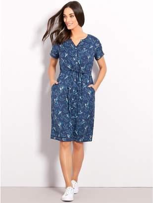 M&Co Brakeburn hummingbird print dress