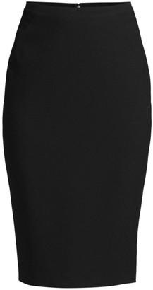 Elie Tahari Harla Fluid Crepe Pencil Skirt