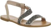 Office Sparkle Sling Back Sandals