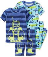 Carter's 4-Pc. Scuba & Submarines Pajama Set, Toddler Boys (2T-4T)