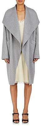 Xo Barneys Colombo Women's Cashmere Open-Front Coat - Gray