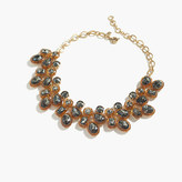 J.Crew Jewel box cluster necklace