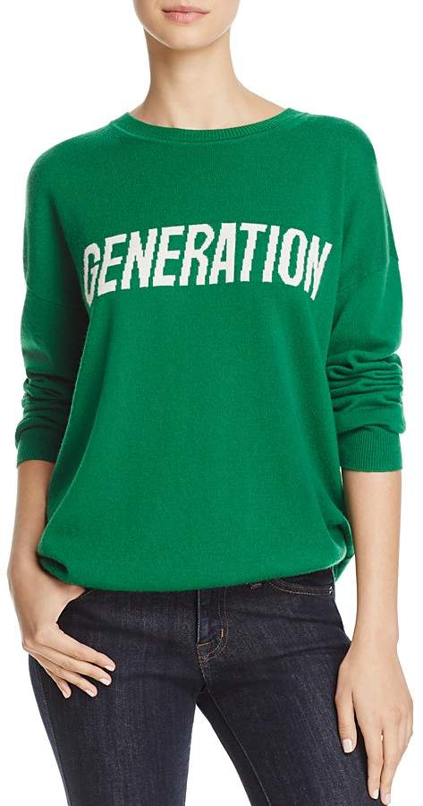 "Sandro Generation"" Wool & Cashmere Sweater"
