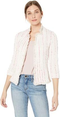 Nic+Zoe Women's Spring Fringe Jacket