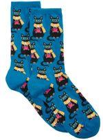 Hot Sox Women's Coffee Cat Socks