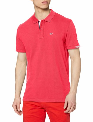 Tommy Jeans Men's TJM Rib Polo Shirt