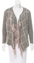 Opening Ceremony Textured Open Front Cardigan
