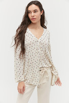 Urban Outfitters Spirit V-Neck Babydoll Blouse