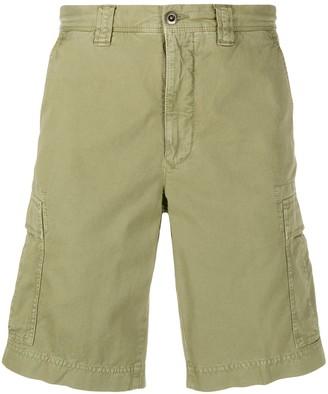 Incotex Denim Cargo Shorts