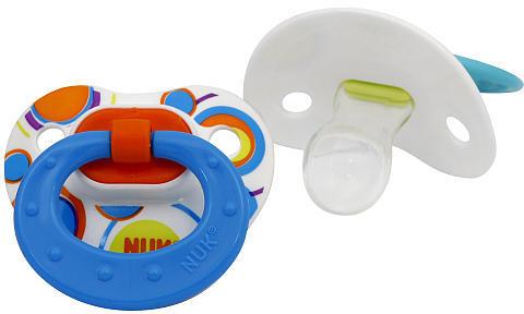 NUK BPA Free Silicone Dots Pacifier - 2PK - Size 1 - Boys