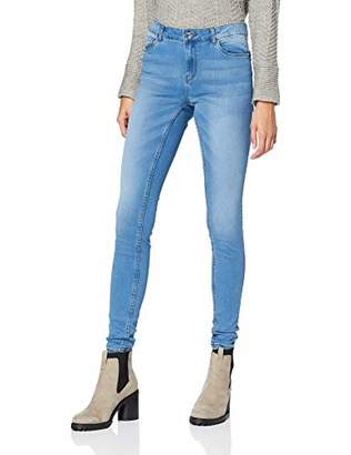 Vero Moda NOS Women's Slim Jeans, Light Blue Denim, (Manufacturer Size: XS)