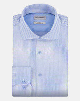 Le Château Geo Print Cotton Tailored Fit Shirt