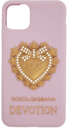 Dolce & Gabbana Pink Devotion iPhone 11 Pro Max Case