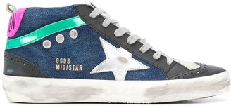 Golden Goose Mid-Star lace-up sneakers